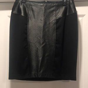 Apt. 9 black pencil skirt, 10